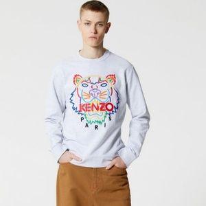Kenzo Paris Rainbow Tiger Sweatshirt, Sz XS